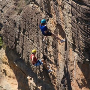 Intermediate Abseiling Course, Blue Mountains
