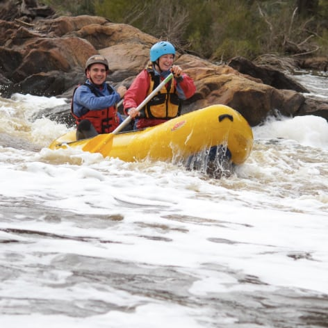Avon River Rafting Trip, Perth, Half Day