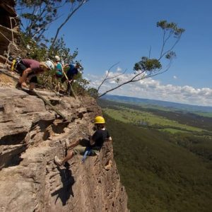Beginners Abseiling Course with Lunch, Blue Mountains, 1 Day