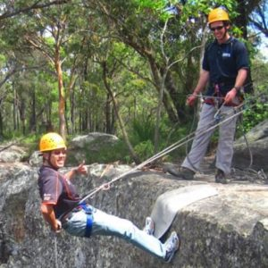 Glenworth Valley Abseiling, Central Coast NSW, 2.5 hours