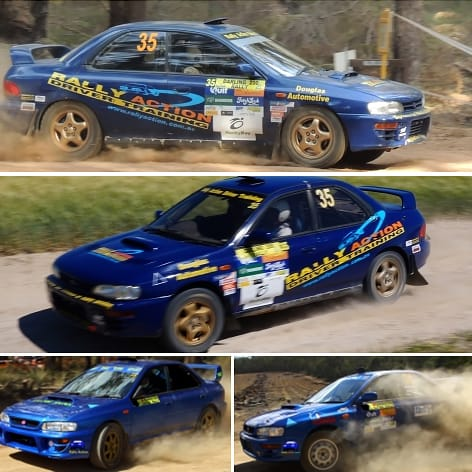 Half Day Rally Driving Course, Perth