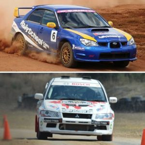 Rally Car Driving Adelaide, 16 Laps
