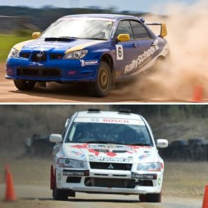 Rally Car Driving Brisbane, 16 Laps QLD