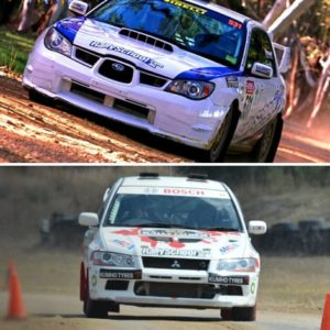 Rally Car Driving Melbourne, 16 Laps