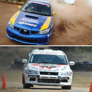 Rally Car Driving Perth, 2 Cars, 16 Laps