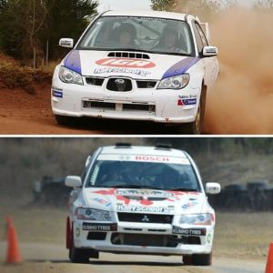 Rally Car Driving Sydney, 16 Laps
