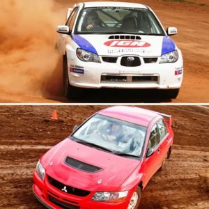 Brisbane Rally Driving Experience, Half Day