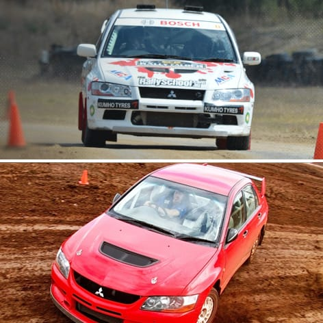 Melbourne Rally Driving Experience, Half Day