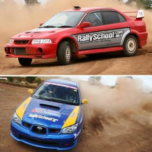 Rally Driving Adelaide, XLR8 Pack, 8 Laps