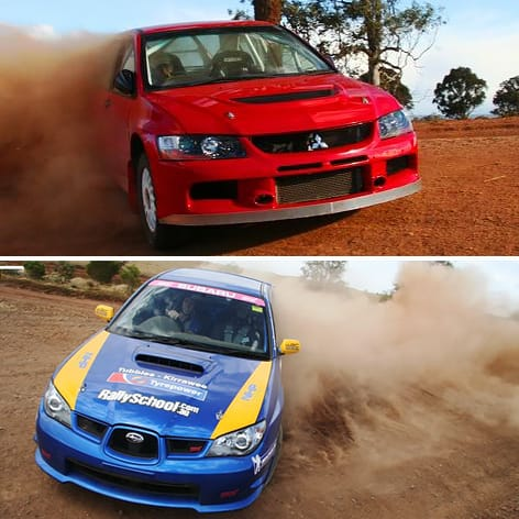 Rally Driving Experience Melbourne, XLR8 Pack, 8 Laps