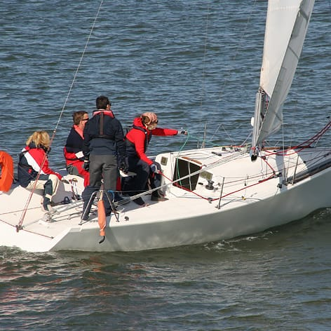 Sailing Lessons on Sydney Harbour - RYA Start Yachting Course