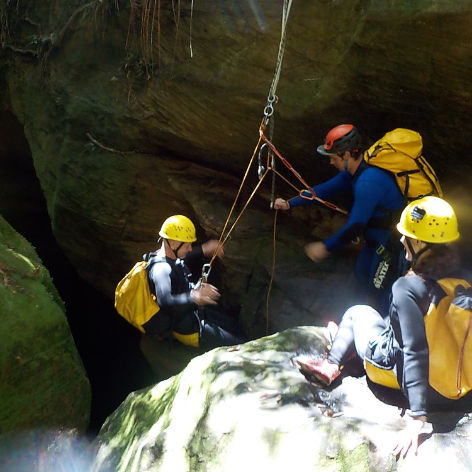 Serendipity Canyon Tour, Blue Mountains Canyoning Tour