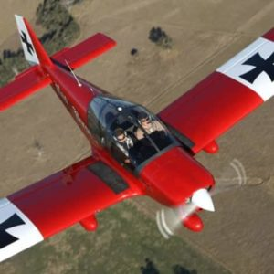 Sydney Aerobatic Flight in a Robin 2160