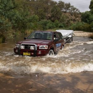 Off Road Towing Course, Lithgow