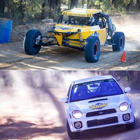 Drive a V8 Race Buggy and WRX Rally Car in Sydney