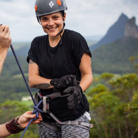 Glasshouse Mountains Abseiling