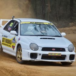 Rally driving experience Sydney 8 laps