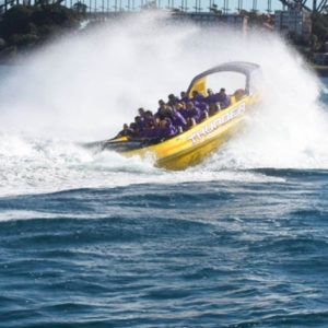 Extreme Jet Boat Ride on Sydney Harbour, 45 mins