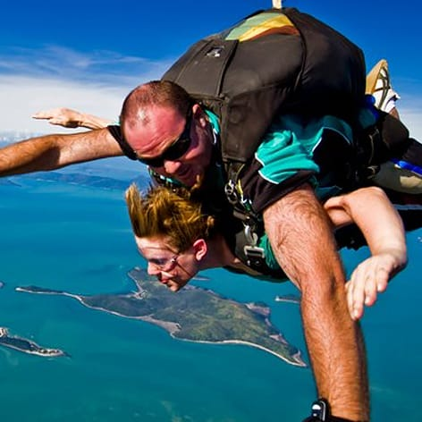 Skydive Airlie Beach, on the Whitsundays Queensland