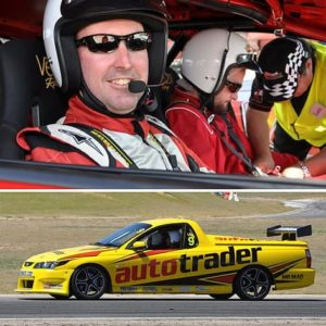 V8 Ute Race Car Driving Experience, Perth, 7+3