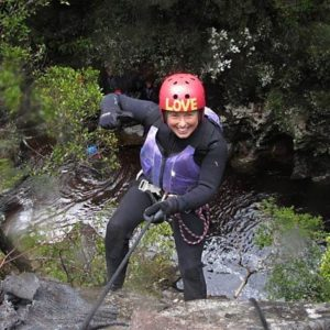 Dove Canyoning Tasmania Day Tour.