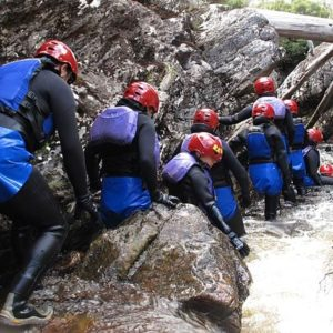 Cradle Mountain Canyoning, Dove River, Tasmania