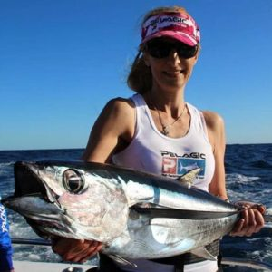 Nice tuna caught off Sydney on our game fishing charter experience.