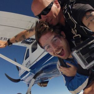 Skydiving over Cairns Qld
