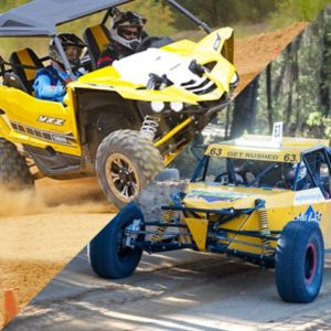 Drive a V8 Off Road Race Buggy and Yamaha YXZ 1000 buggy