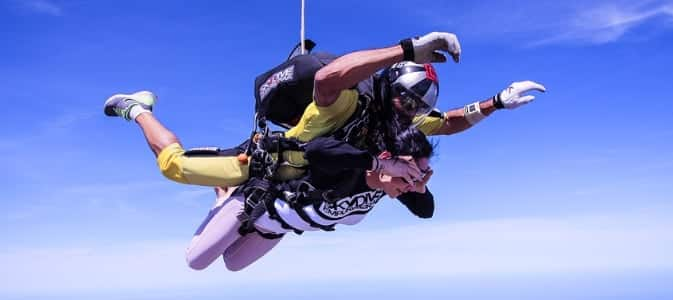 First time skydiving tips for Australian skydiving.
