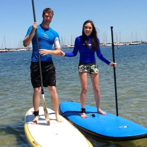 Private Stand Up Paddle Boarding lesson in Melbourne