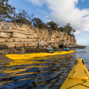 Hobart Sea Kayaking Tour – Cliffs, Caves and Beaches