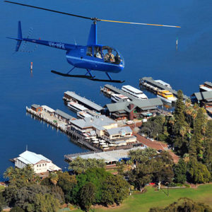 Private Scenic Helicopter Flight, Perth to Fremantle