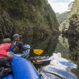 King River Gorge Kayaking Tour, Queenstown TAS