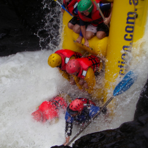Extreme Whitewater Rafting on the Nymboida River, 1 Day