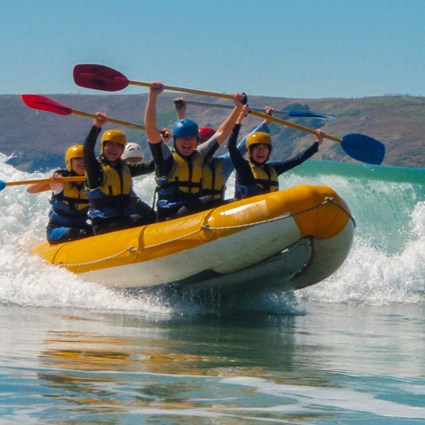 Surf Rafting at Coffs Harbour NSW