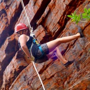 Karijini National Park Abseiling and Rock Climbing, Joffre Gorge, WA