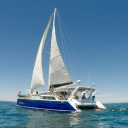 Sailing on Ningaloo Reef