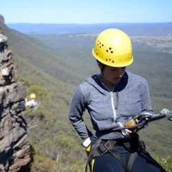 Abseiling and Rock Climbing Day, Blue Mountains