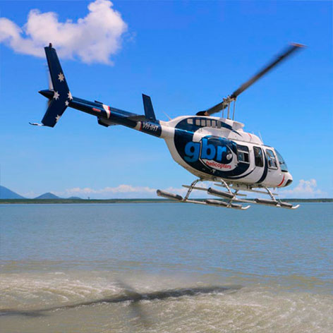 Cairns Helicopter Joy Flight for 2 people for 10 mins