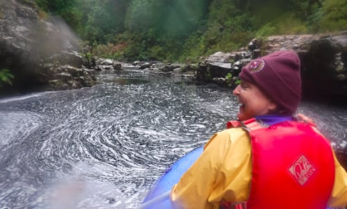 A wonderful day kayaking in the King River Gorge 04