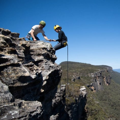 Beginners Abseiling Blue Mountains, Half Day Trip